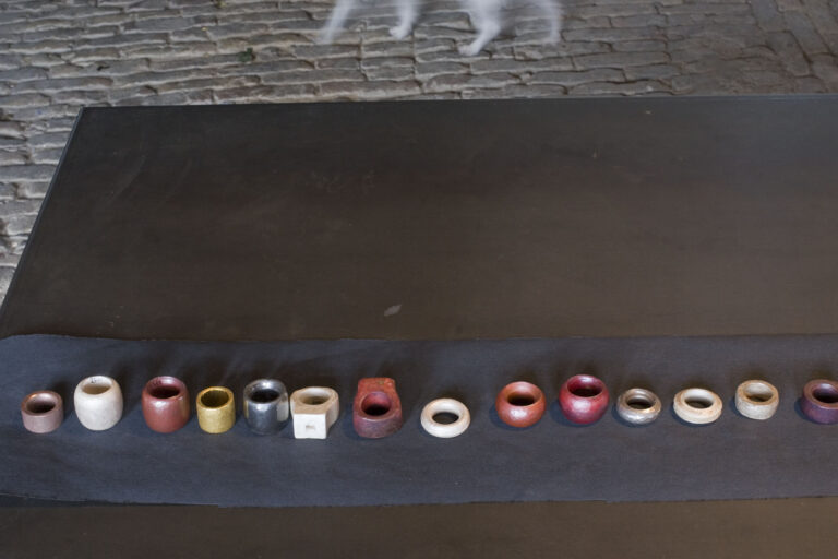 Galerie  im Kelterhaus, Rosemarie Jäger, Hochheim. Bettina Dittlmann & Michael Jank. UNSERE SICHT DER RINGE – THE WAY RINGS GO. 19. Oktober–9. November 2008