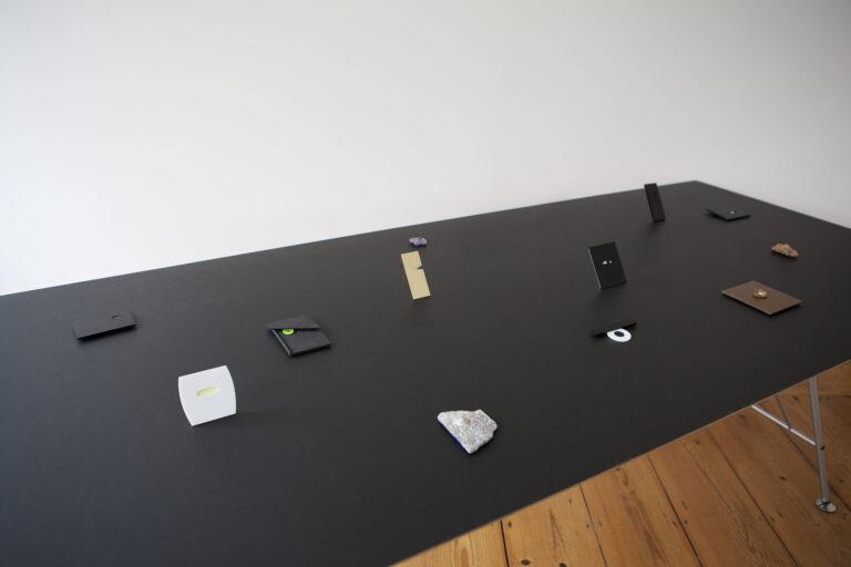 Therese Hilbert und Otto Künzli.Ausstellung in der Galerie Rosemarie Jäger in Hochheim.©Miriam Künzli