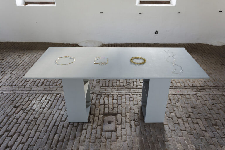 Galerie Rosemarie Jaeger05. 11. – 19. 11. 2017FRANCESCO PAVAN · ANNELIES PLANTEIJDTGRAZIANO VISINTIN · STEFANO MARCHETTItre orafi e een goudsmidSchmuck